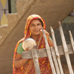 India: Local Woman