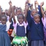 Kenya_CGP_Girls Poem Pathfinder (Holding Hands)